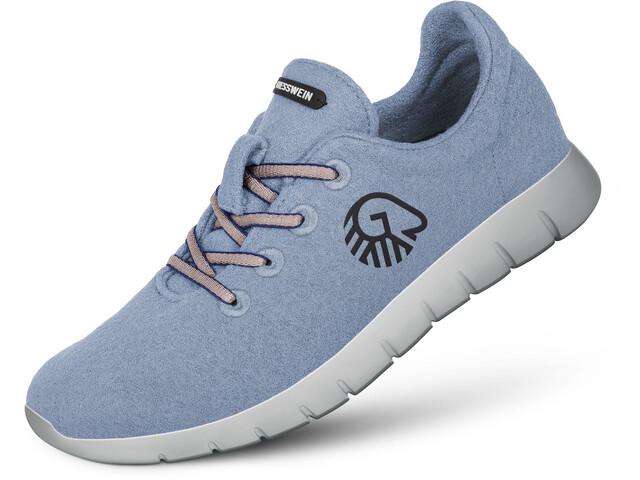 Giesswein Merino Wool Runners Hombre, sky blue